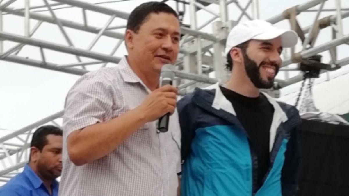 Will Salgado y Nayib Bukele