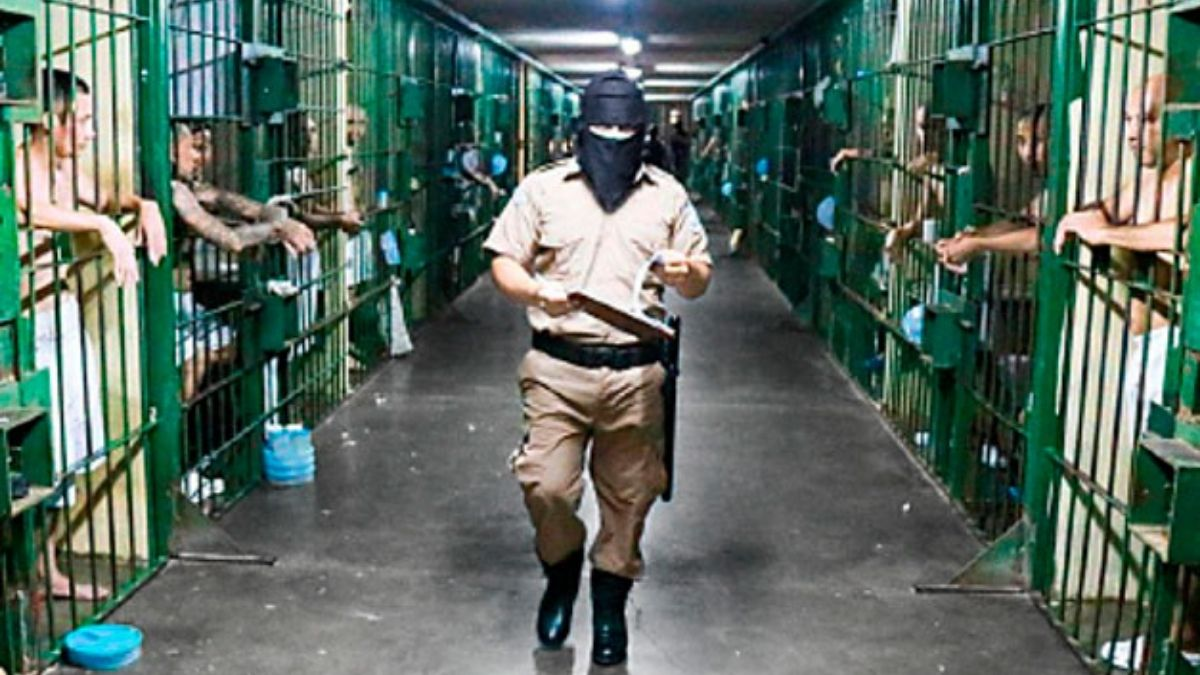 casos de covid19 en el sistema penitenciario El Salvador