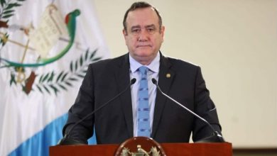 presidente de Guatemala da positivo a covid-19