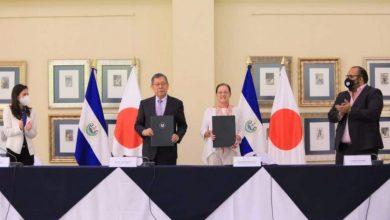 Japón y El Salvador