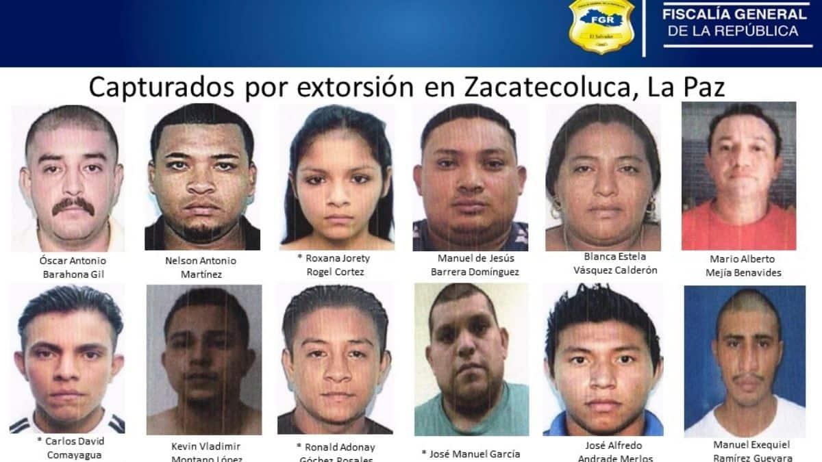 FGR captura empleados de la alcaldía de Zacatecoluca