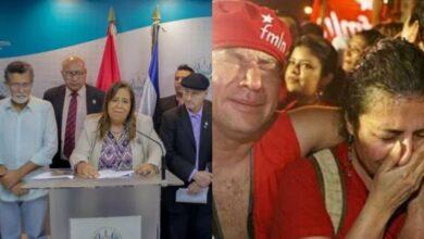 FMLN llorando