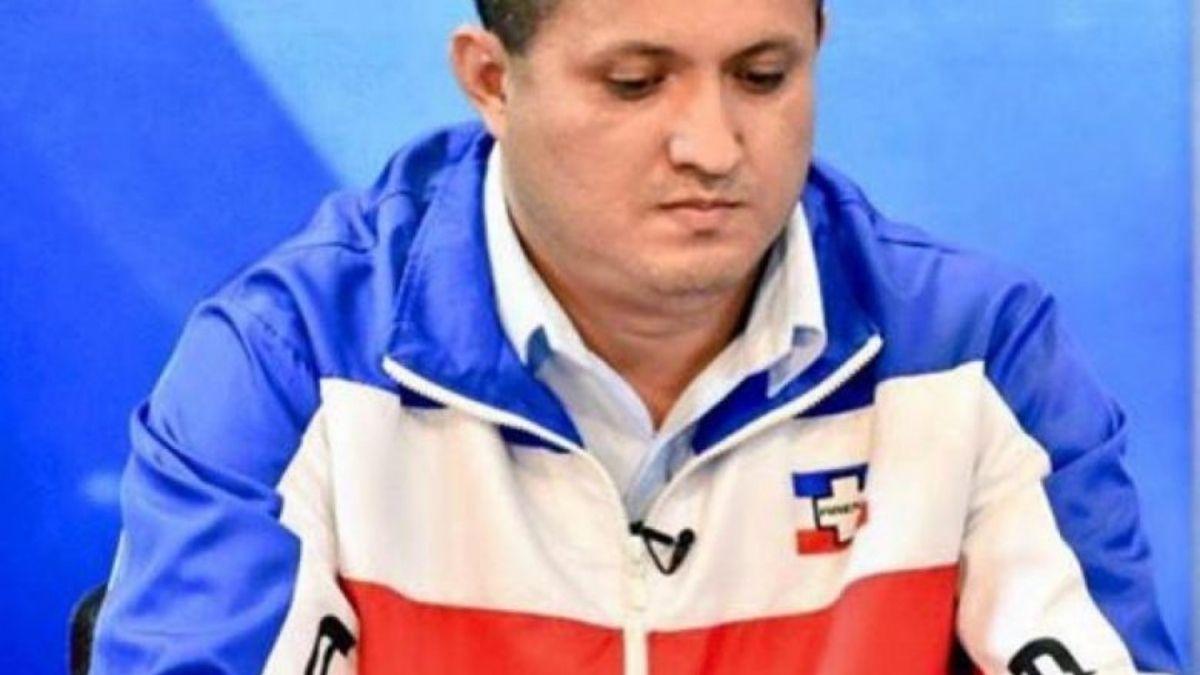 Emilio Coreas es vacunado contra covid