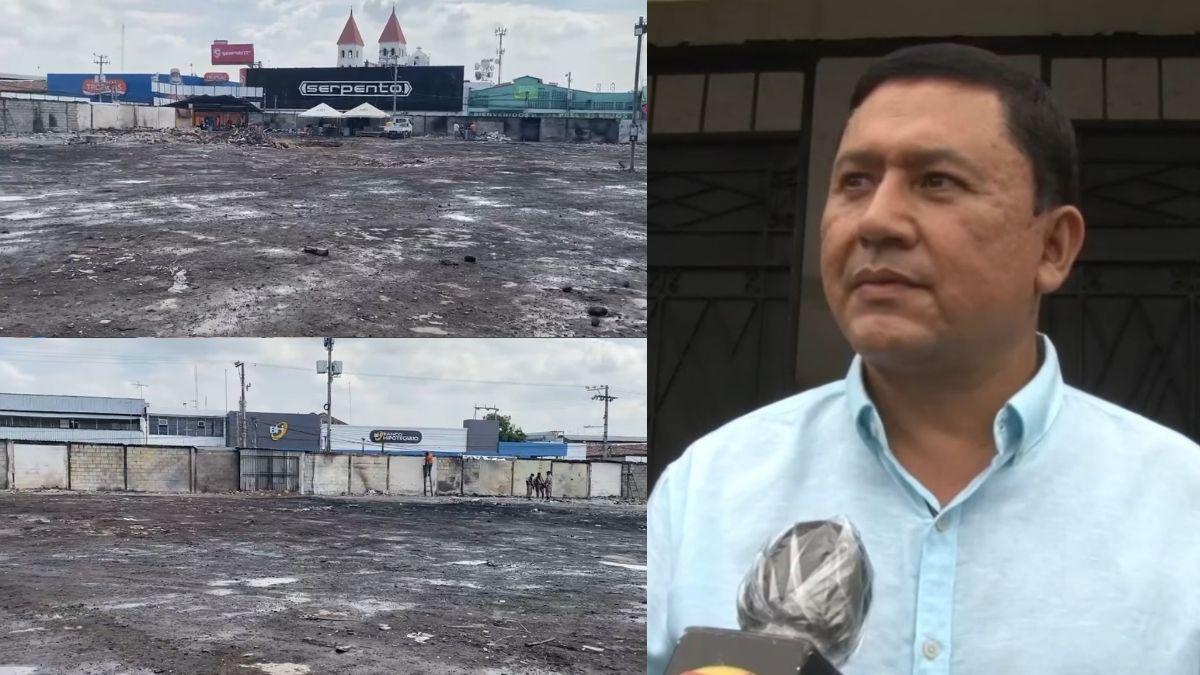 Will Salgado retira escombros