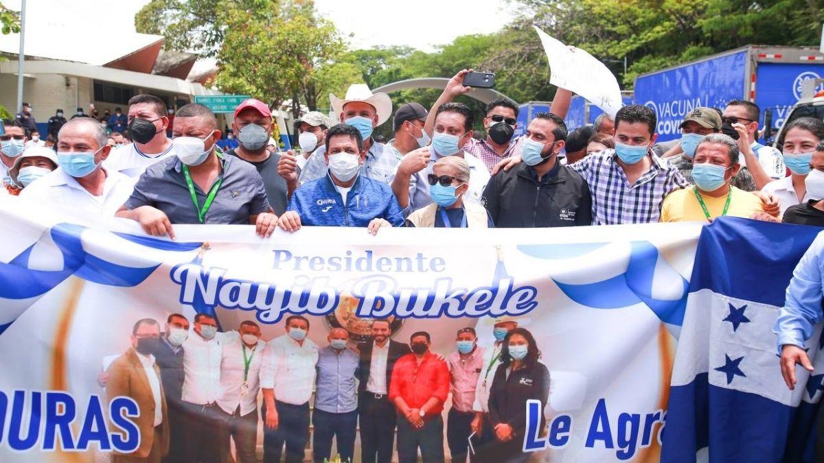 Alcaldes Hondureños agradecen la donación de vacunas