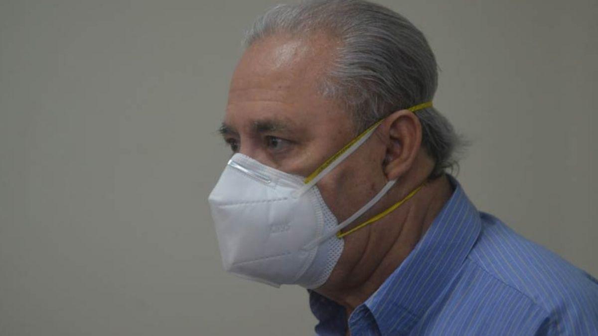 Guillermo Maza ex ministro de salud en el periodo de Tony Saca