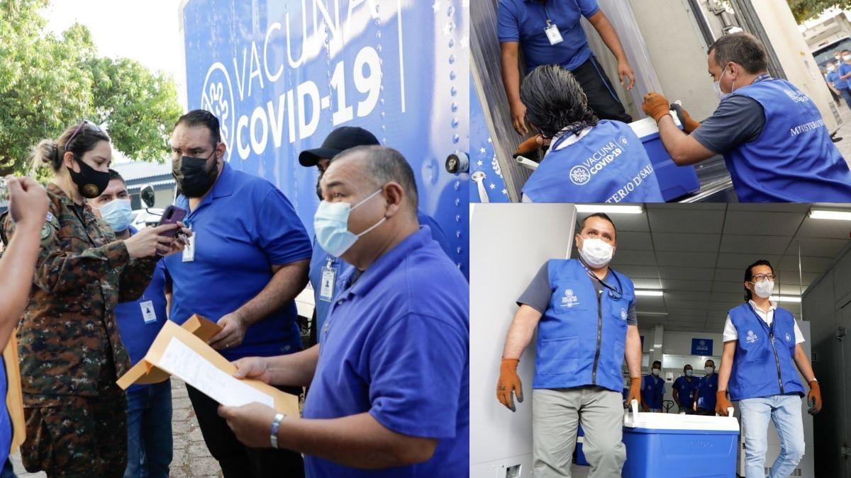 Inicia traslado de vacunas hacia Honduras
