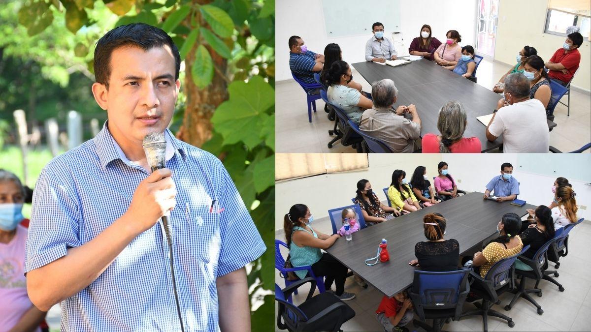 Juan Pablo Pérez sostiene acercamientos con distintos sectores del municipio
