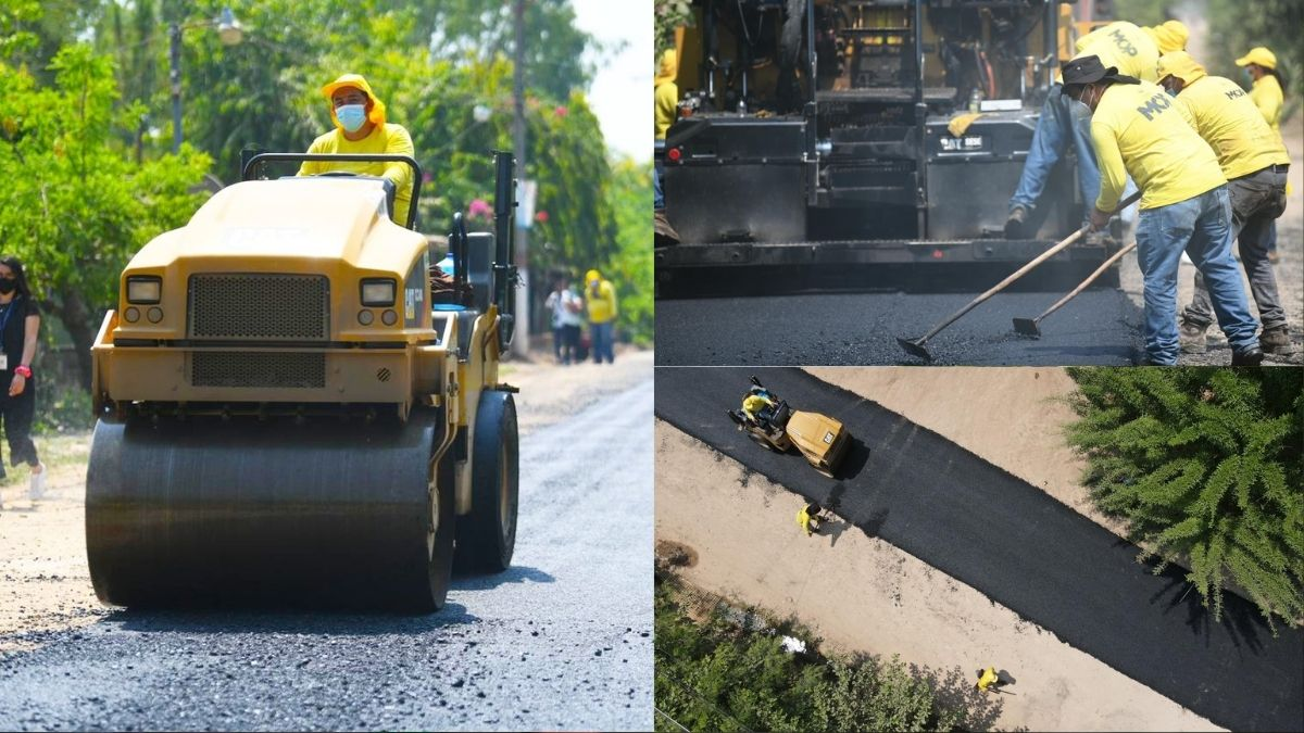 MOP construye nueva carretera en San Pablo Tacachico