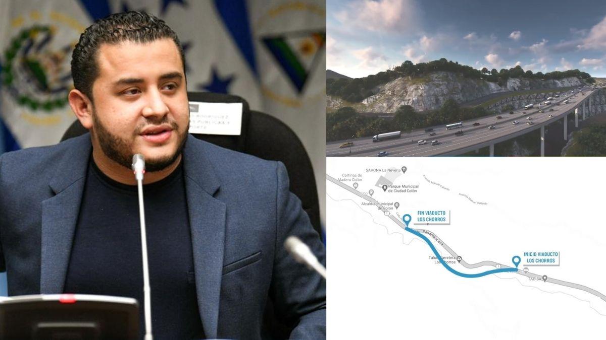 MOP presenta ampliación de carretera de los chorros