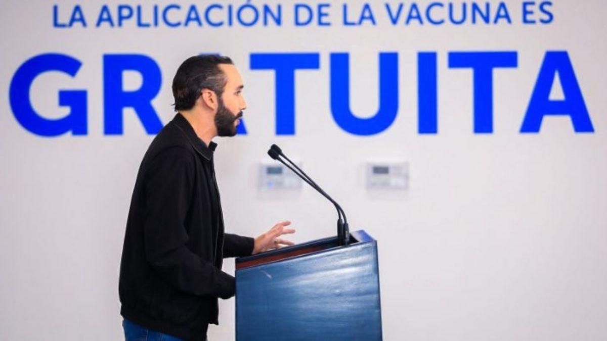 Nayib Bukele Gobierno de El Salvador