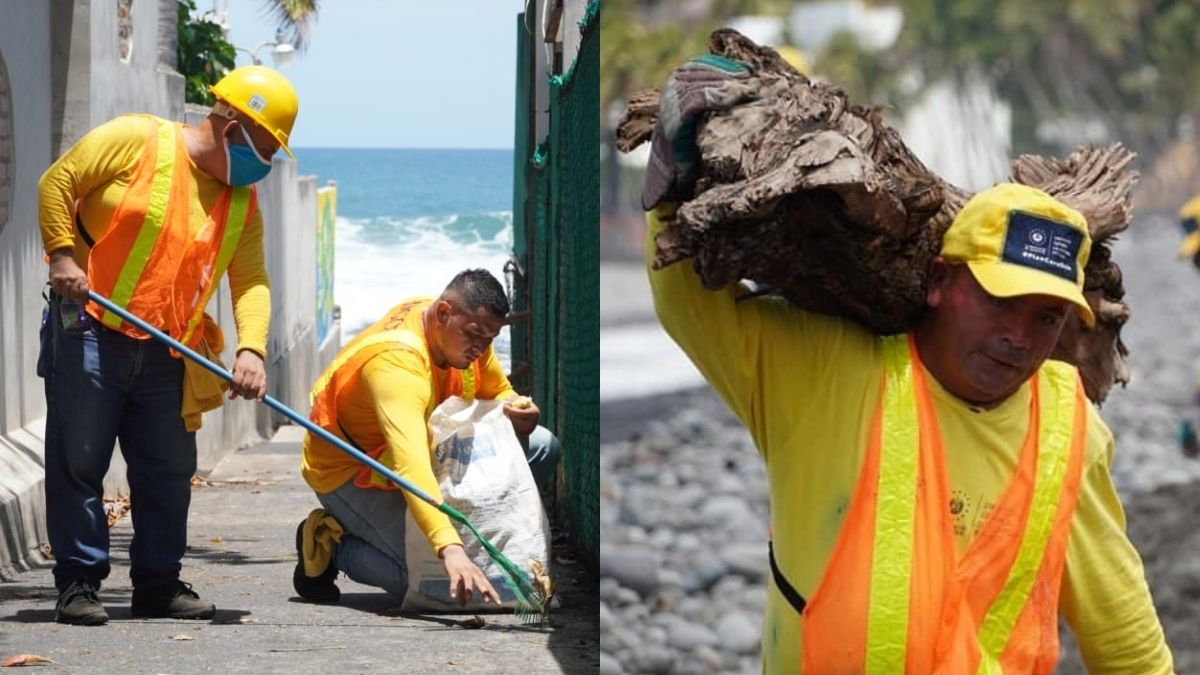 Plan Cero Ocio realiza limpieza en ocho playas del pais