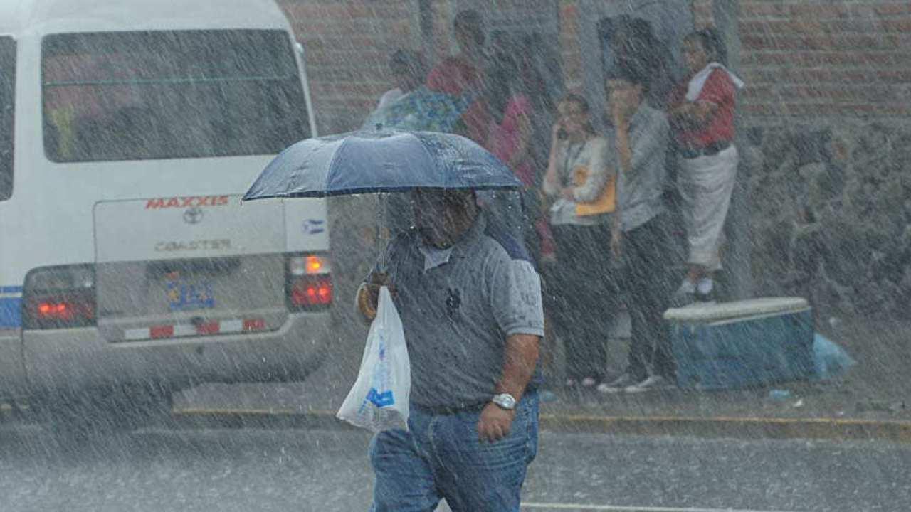 Para este miércoles se espera que las lluvias continúen en todo el territorio Salvadoreño