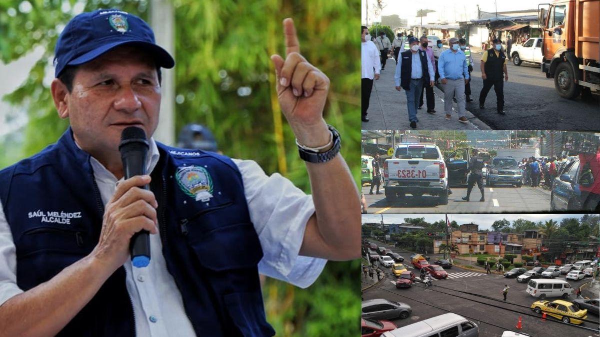 Alcalde de Mejicanos reordena mercado municipal