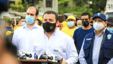 Alcaldia, Obras Públicas y Gobernación realizan jornada de limpieza
