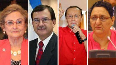Ex residentes de la Comisión de Hacienda