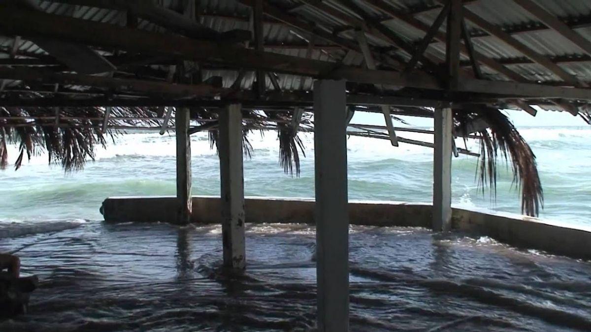 Reportan inundaciones en La Unión