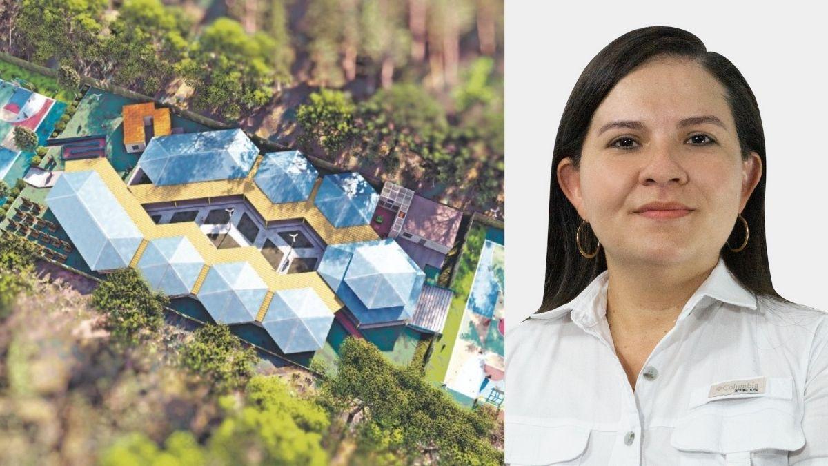 Damaris Leiva presenta proyecto Mi Nueva Escuela