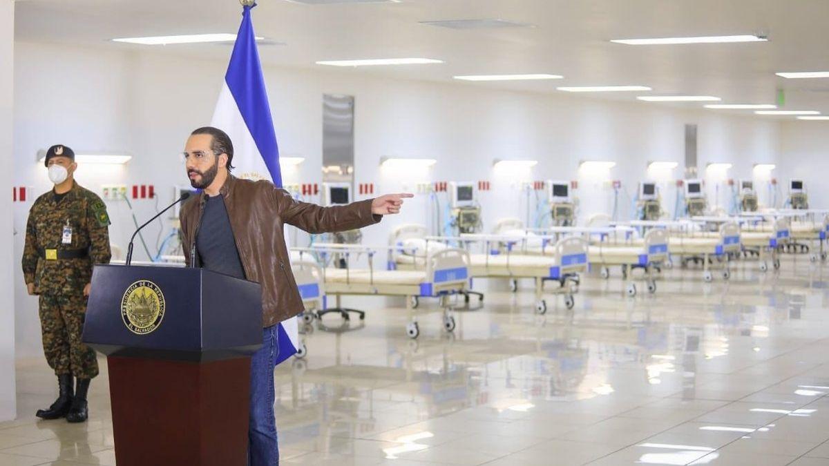 Nayib Bukele mejora red hospitalaria