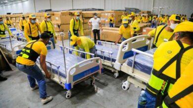 Privados de Libertad ayudan en la movilización de camas