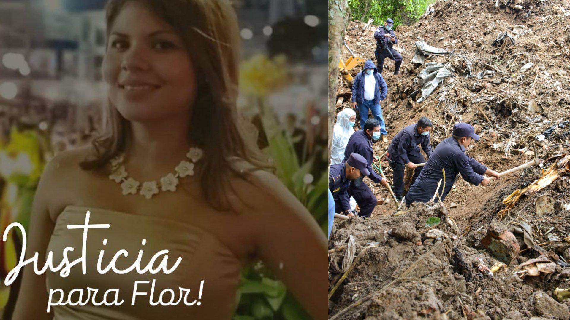 PNC confirma que el cuerpo encontrado es el de Flor García