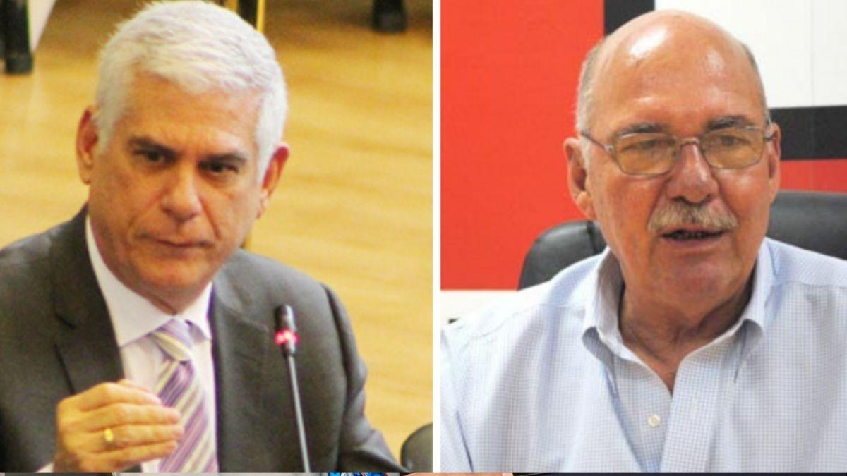 Secretario de la Presidencia informa que Alfredo Cristiani y Rodolfo Parker abandonaron el país