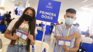 15,000 personas son vacunadas en un solo día en en Megacentro de vacunación