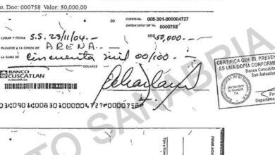 $400,000 recibió ARENA en sobresueldos en 2004, revelan documentos