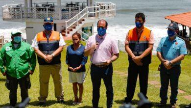 Gobierno verifica se cumplan protocolos de bioseguridad en destinos turísticos en La Libertad