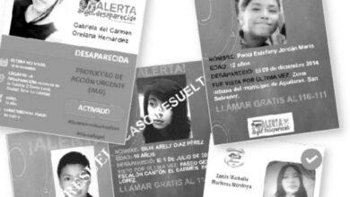 596 casos de personas desaparecidas han sido resueltos en los primeros 6 meses del 2021