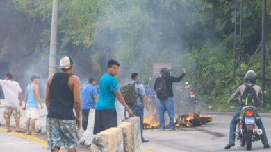 La excesiva velocidad en que se conducía provoco la muerte de motociclista que murió calcinado en carretera a La Libertad