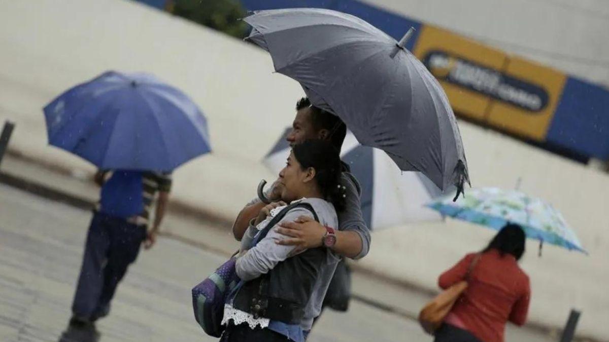 MARN pronostica tormentas con ráfagas de viento para esta noche en El Salvador