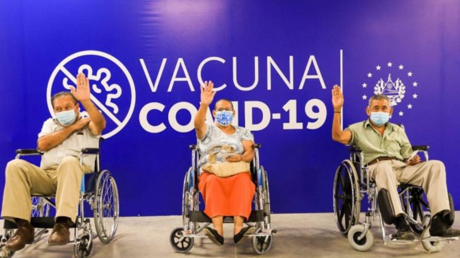 Por segundo día consecutivo, El Salvador bate récord de vacunación anti-COVID-19