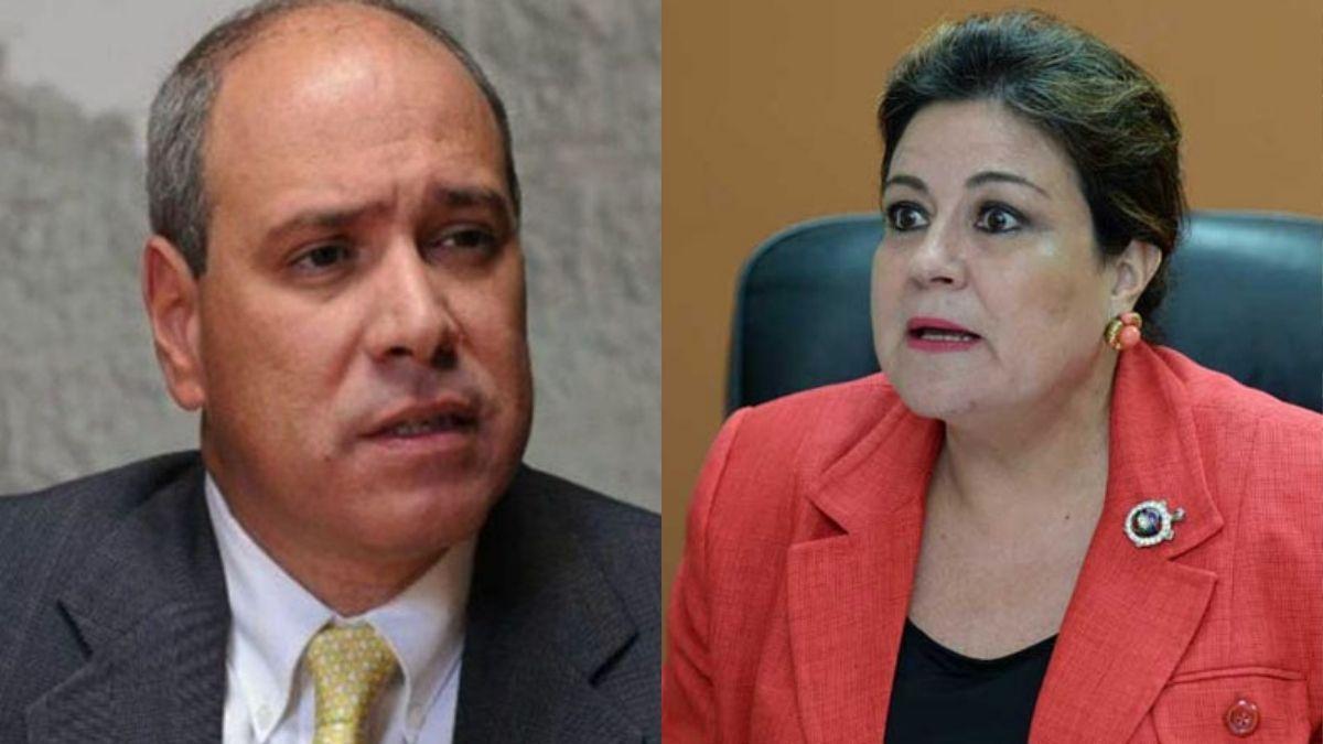 Rodrigo Avila y Margarita Escobar